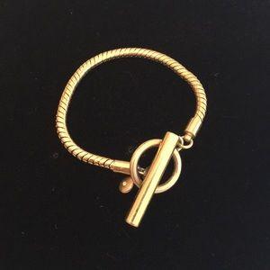 Gold-toned Jcrew bracelet